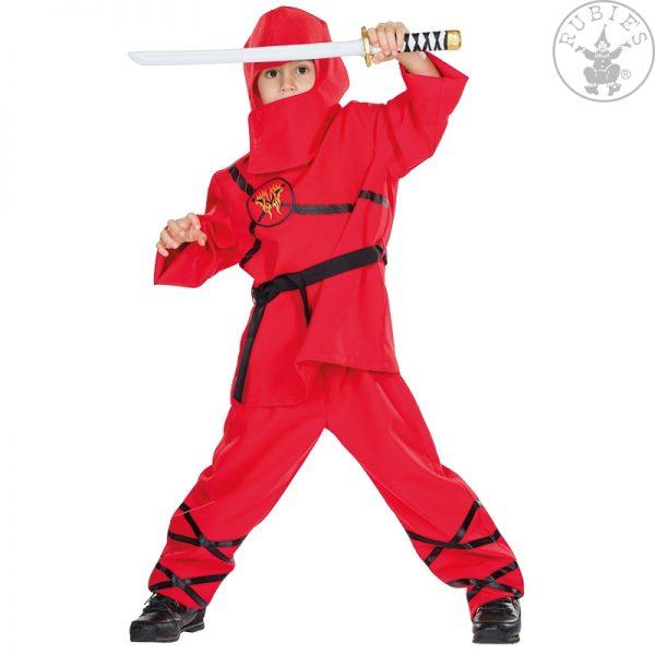 kostum-ninja-za-otroke-rdeči
