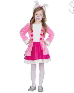 otroški-pustni-kostum-zajček-roza