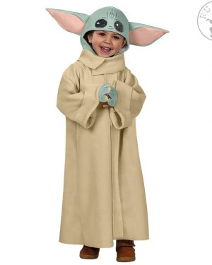Pustni kostum Baby Yoda Grogu Mandalorian Star Wars