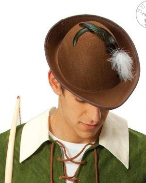 Robin-Hood-klobuk-s peresom