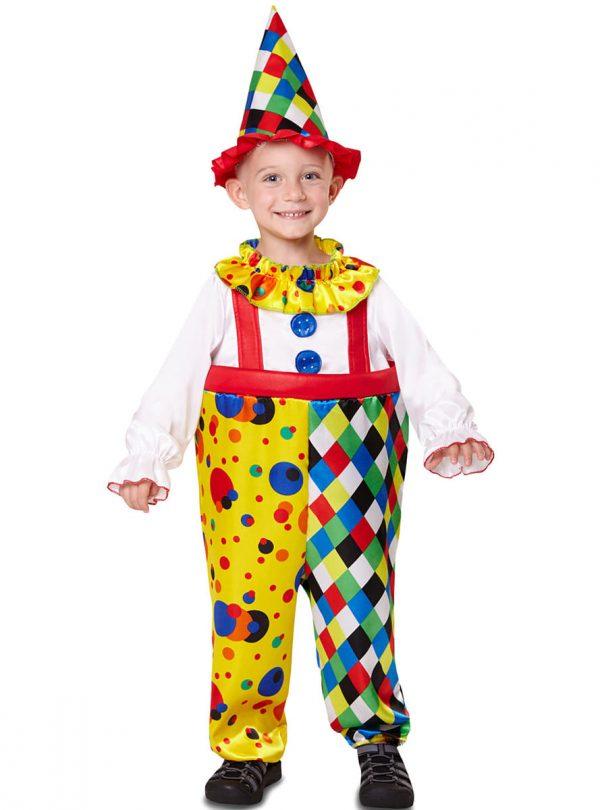 Pustni kostum Klovn otroški